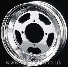 8 x 2.50 Daytona Five Spoke Aluminium Tubeless Wheel suitable for use with Monkey Bike Motorcycles