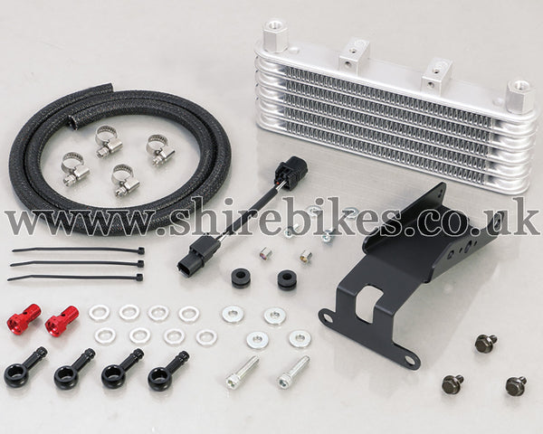 Kitaco 5-Row Oil Cooler Kit suitable for use with Monkey 125