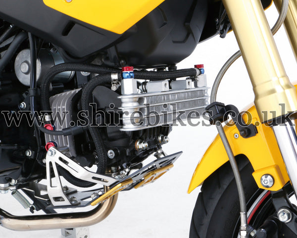 Kitaco Black Oil Cooler Kit suitable for use with MSX125 GROM