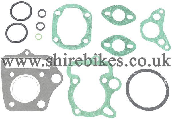 Reproduction 72cc Top End Gasket Set suitable for use with Dax 6V, Chaly 6V