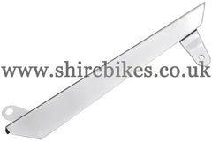 Reproduction Chrome Steel Chain Guard suitable for use with Z50A