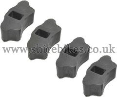 Honda Drive Cushion Rubber (Set of 4) suitable for use with Dax 6V, Dax 12V, Chaly 6V