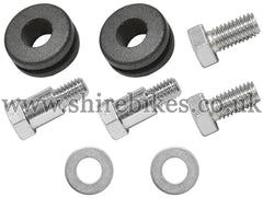 Honda Rear Mudguard Bolt, Washer & Rubber Grommet Set suitable for use with Z50A
