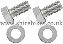 Honda Front Mudguard Bolt & Washer Set suitable for use with Z50A