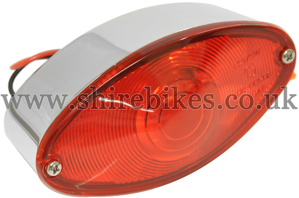 Zhen Hua 12V Oval Rear Light suitable for use with SR50, SR125 & Jincheng M50