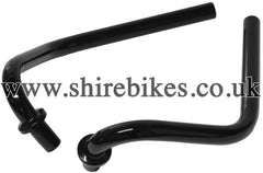 Honda Black Folding Handlebars (Pair) suitable for use with Z50J