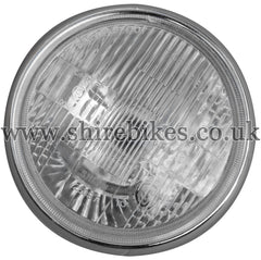 Zhen Hua 12V Headlight Lens & Rim suitable for use with Monkey Bike, Dax Motorcycles