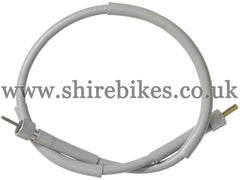 Reproduction Grey Speedometer Cable suitable for use with Dax 6V