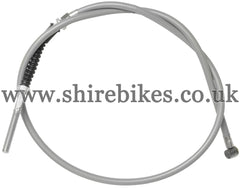 Reproduction Grey Front Brake Cable suitable for use with Honda Z50M