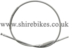 Reproduction Grey Front Brake Cable suitable for use with Z50A, Z50J1