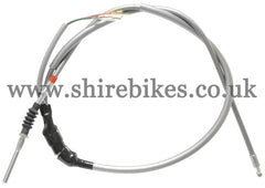 Honda Grey Front Brake Cable suitable for use with Dax 6V, Chaly 6V