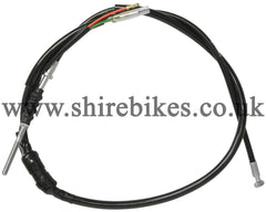Honda Black Front Brake Cable suitable for use with Dax 6V, Chaly 6V