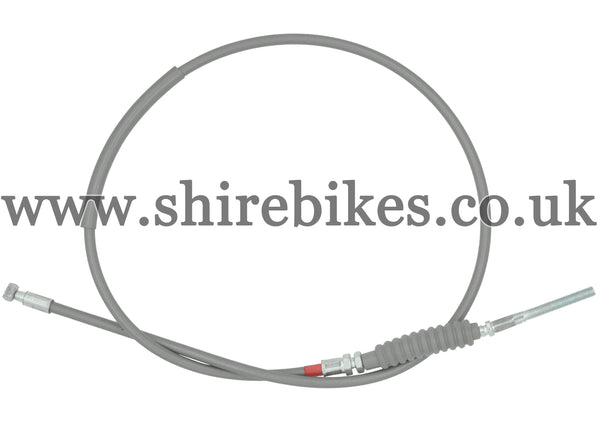 Reproduction Grey Front Brake Cable (Red Band) suitable for use with Z50A, Z50J1