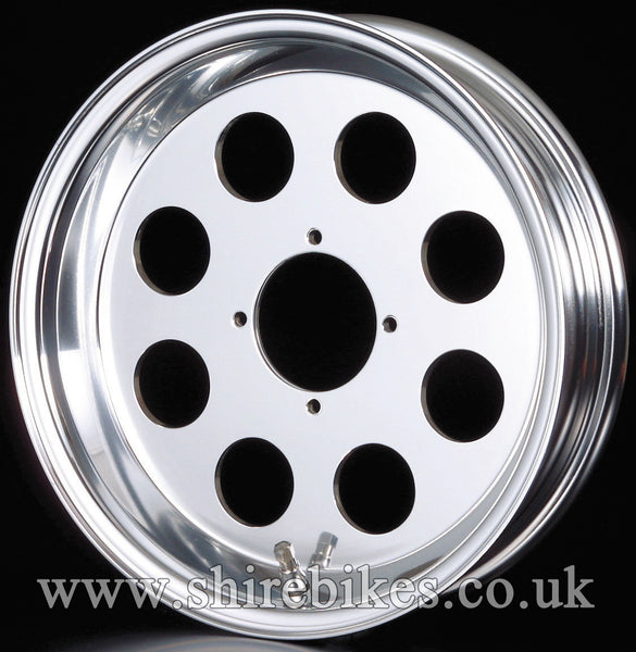 10 x 3.50 Daytona Hole Aluminium Tubeless Wheel suitable for use with Monkey Bike Motorcycles