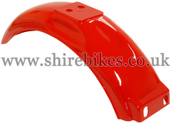 Reproduction Red Rear Mudguard suitable for use with Monkey Bike Motorcycles