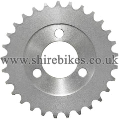 29T Rear Sprocket suitable for use with CZ100, Z50M, Z50A, Z50J1, Z50J, Z50R & Chinese Copies