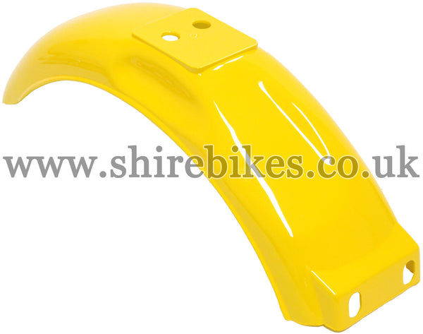 Reproduction Yellow Rear Mudguard suitable for use with Monkey Bike Motorcycles