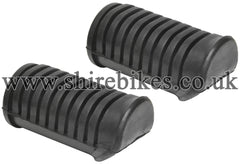 Honda Foot Peg Rubbers (Pair) suitable for use with Z50J1