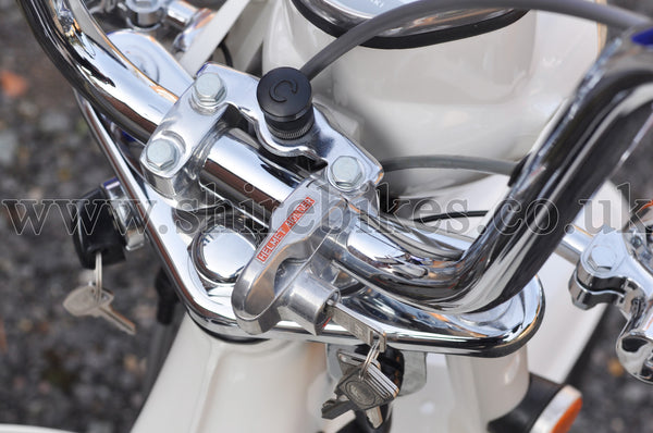 Honda Bar Mount Helmet Lock suitable for use with Z50J (Gorilla), Chaly 6V