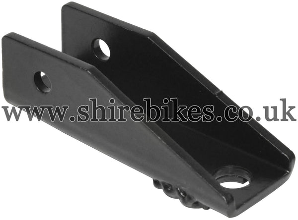Reproduction Rear Foot Peg Mount Bracket suitable for use with Dax 6V, Chaly 6V, Dax 12V