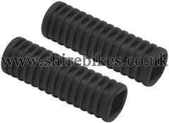 Honda Rear Foot Peg Rubbers (Pair) suitable for use with Dax 12V, C90E