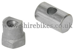 Honda Brake Barrel & Adjusting Nut suitable for use with CZ100, Z50M, Z50A, Z50J1, Z50R, Z50J, Dax 6V, Dax 12V, Chaly 6V