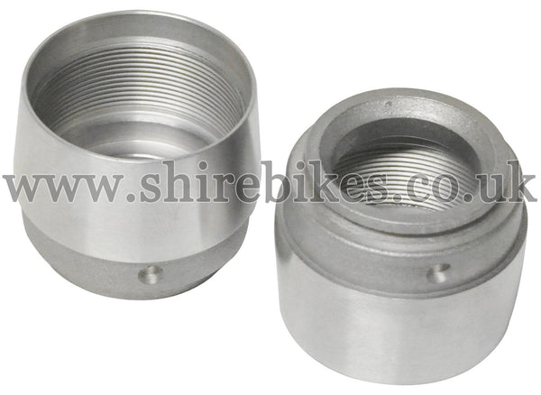 Honda Aluminium Fork Cups (Pair) suitable for use with Z50A, Z50J1, Dax 6V, Chaly 6V