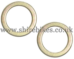 Honda Fork Washers (Pair) suitable for us with Z50R, Z50J