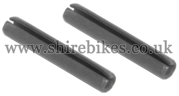 Honda Fork Bush Roll Pins (Pair) suitable for use with Z50R, Z50J, Z50J1, Dax 6V, Chaly 6V