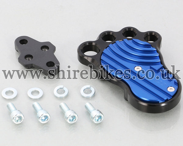 Kitaco Blue Big Foot for Brake Pedal suitable for use with Monkey 125