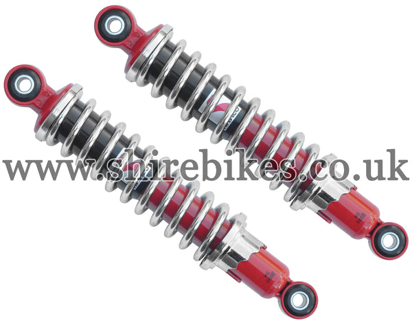 Kitaco 265mm Chrome & Red Shock Absorbers (Pair) suitable for us with Z50R, Z50J1, Z50J