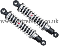 Kitaco 265mm Black & White Shock Absorbers (Pair) suitable for us with Z50R, Z50J1, Z50J