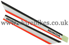 Honda Frame Stickers (Pair) suitable for use with C90E