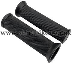 NEW Reproduction Handlebar Rubber Grips (Pair) suitable for use with CZ100