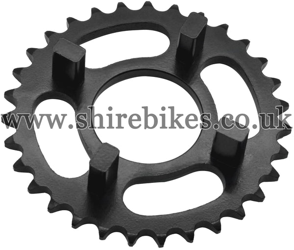 Kitaco 31T Black Rear Sprocket suitable for use with Dax 6V, Chaly 6V, Dax 12V