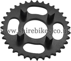 Kitaco 35T Black Rear Sprocket suitable for use with Dax 6V, Chaly 6V, Dax 12V