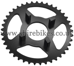 Kitaco 41T Black Rear Sprocket suitable for use with Dax 6V, Chaly 6V, Dax 12V