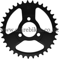 Kitaco 35T Black Rear Sprocket suitable for use with Z50A, Z50J1, Z50J, Z50R & Chinese Copies