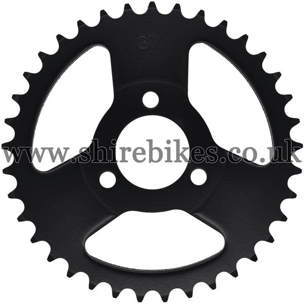 Kitaco 37T Black Rear Sprocket suitable for use with Z50A, Z50J1, Z50J, Z50R & Chinese Copies