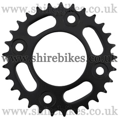 Kitaco 29T Black Rear Sprocket suitable for use with MSX125 GROM, Monkey 125