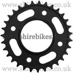 Kitaco 31T Black Rear Sprocket suitable for use with MSX125 GROM, Monkey 125