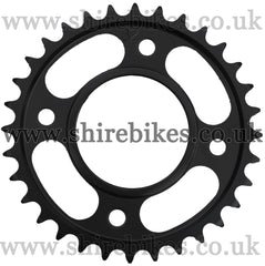 Kitaco 32T Black Rear Sprocket suitable for use with MSX125 GROM, Monkey 125