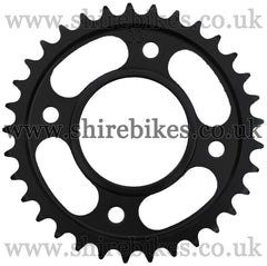 Kitaco 33T Black Rear Sprocket suitable for use with MSX125 GROM, Monkey 125