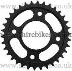 Kitaco 34T Black Rear Sprocket suitable for use with MSX125 GROM, Monkey 125