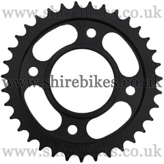 Kitaco 35T Black Rear Sprocket suitable for use with MSX125 GROM, Monkey 125