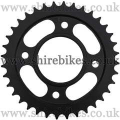 Kitaco 36T Black Rear Sprocket suitable for use with MSX125 GROM, Monkey 125