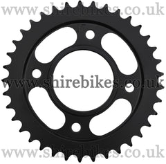 Kitaco 37T Black Rear Sprocket suitable for use with MSX125 GROM, Monkey 125
