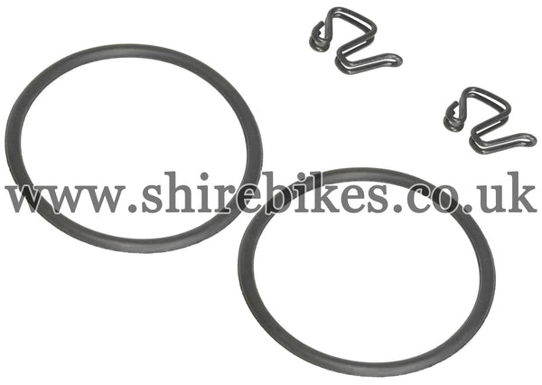 Honda Front Number Plate Bands & Clips suitable for use with Z50R