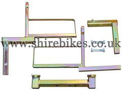 Vehicle Transport Rack for 12 inch Wheels (Zinc Plated) suitable for use with MSX125 GROM, Monkey 125