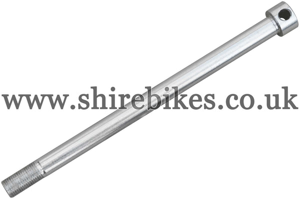 Reproduction Front Wheel Axle (Original Style) suitable for use with Z50A, Z50R, Z50J1, Z50J, Dax 6V, Chaly 6V